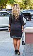 Платье женское модное стильный горох размер 52-58 купить оптом со склада 7км Одесса, фото 8