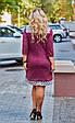 Платье женское модное стильный горох размер 52-58 купить оптом со склада 7км Одесса, фото 9
