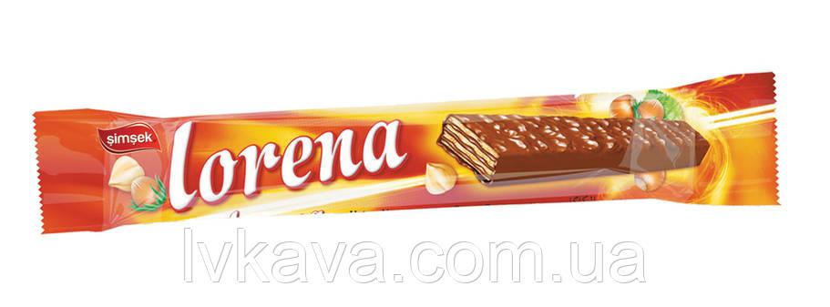 Шоколадные вафли Lorena Simsek с шоколадно-ореховой начинкой , 55  гр, фото 2