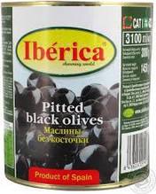 Чорні маслини з кісточкою Iberica (Іберіко)