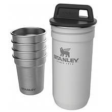 Набір Stanley Adventure Combo (фляга (0,59 л) + 4 чарки), білий