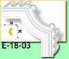 Кутовий елемент Е18-03 16х38мм 25см.