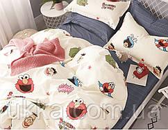 Подростковое постельное белье Сатин Вилюта 353