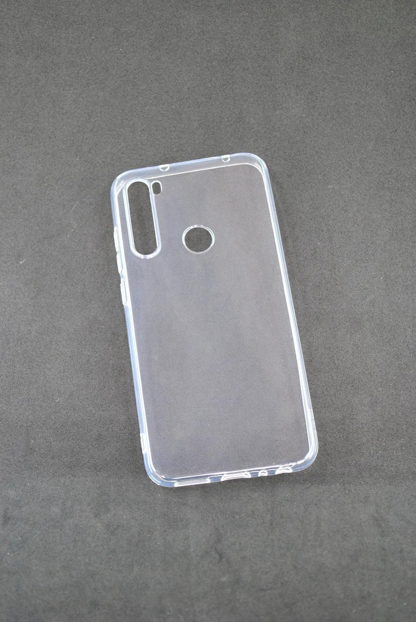 Чехол для Xiaomi Redmi Note 8 Silicone Clear (прозрачный)