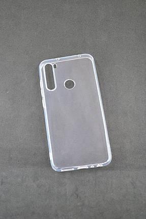 Чехол для Xiaomi Redmi Note 8 Silicone Clear (прозрачный), фото 2