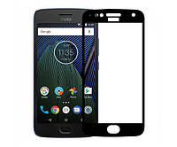 Защитное стекло / Захисне скло Motorola Moto E4 Plus чорний 6D Full