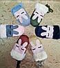 Варежки замш перчатки детские(от 3-х до 9лет стрейч-котон)стильные только оптом