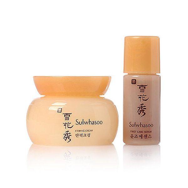 Набор для увлажнения и питания кожи Sulwhasoo Renewing Kit (2 items): cream 4ml + serum 4ml