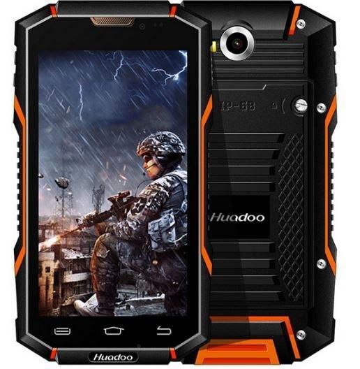 Защищенный мобильный смартфон Huadoo HG06 pro orang 6000mAh