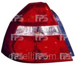 Фонарь задний для Chevrolet Aveo седан (Т250) '06-09 левый (DEPO)