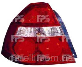 Фонарь задний для Chevrolet Aveo седан (Т250) '06-09 правый (DEPO)