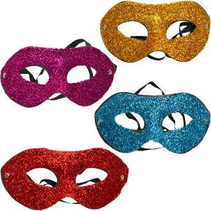 Карнавальная маска 4 цвета