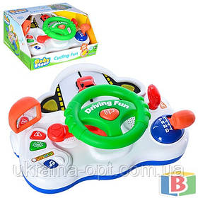 Детский музыкальный руль Автотренажер  Keenway 13701 Звуковые эффекты Baby steer
