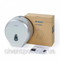 Держатель туалетной бумаги джамбо серебряный пластик Maggio P002S, фото 3