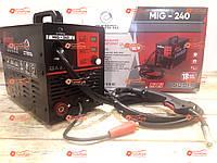 Сварочный полуавтомат инвертор Сталь MIG-240 (MIG / MAG / MMA)
