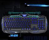 Игровой комплект клавиатура и мышь V100 (с подсветкой), фото 2