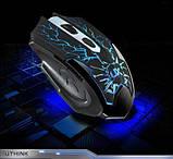 Игровой комплект клавиатура и мышь V100 (с подсветкой), фото 4