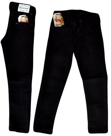 Брюки для  девочки от 5-8 . Детская одежда оптом. Черные.