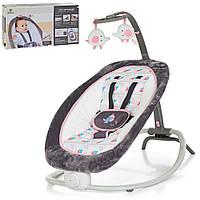 Шезлонг для новорожденных Функция вибрации. Музыка. Bambi 6917