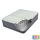 Надувная кровать Intex Размер 99х191х46  встроенный электрический насос Односпальная, фото 2