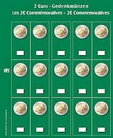 Лист для монет 2 EUR - SAFE Premium, фото 1