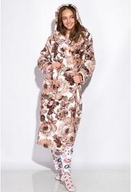 Махровые женские халаты