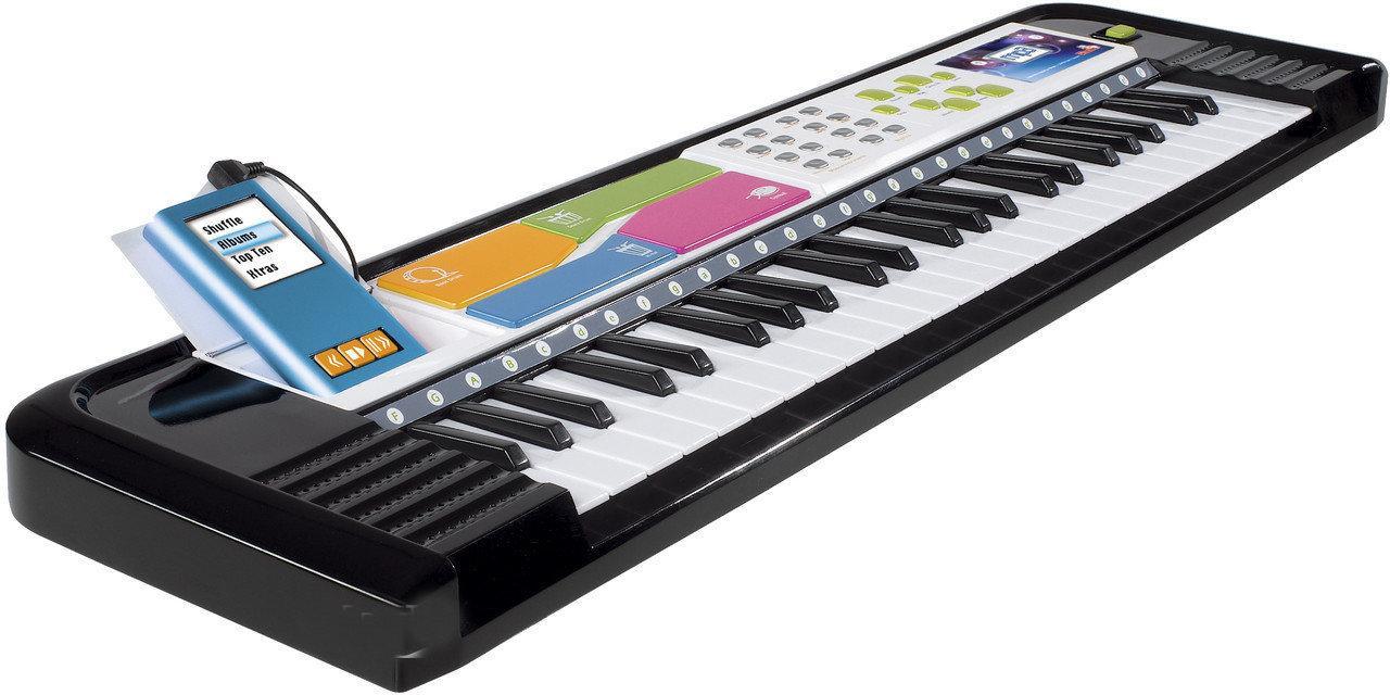 Музыкальный детский инструмент Электросинтезатор 69х19 см Simba 6837079