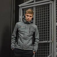 Демісезонне куртка чоловіча сіра, Columbia розмір M, L, XL, XXL