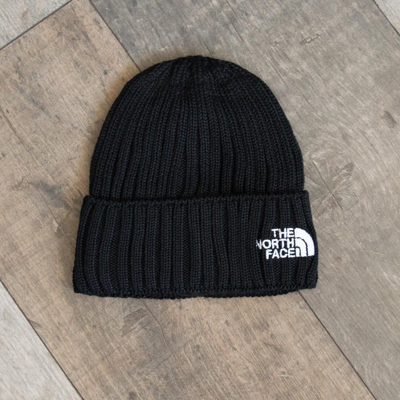 Зимова шапка чорна унісекс The North Face
