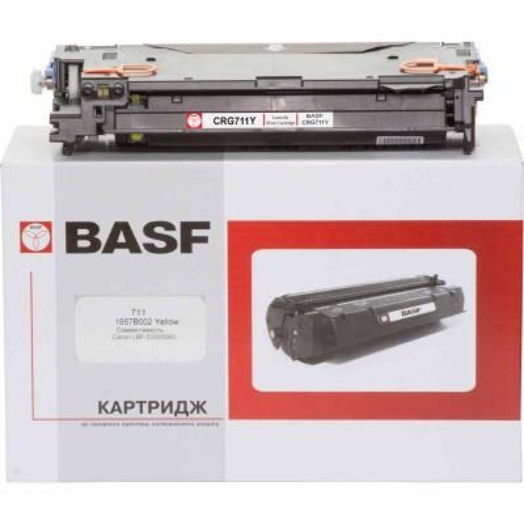 Картридж BASF для Canon LBP-5300/5360 аналог 1657B002 Yellow (KT-711-1657B002)
