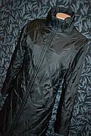 Женская стеганая куртка в ромб