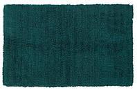 Коврик для ванной - хлопок в темно-зеленом цвете, 50х80 см
