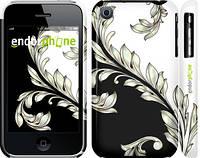 "Чехол на iPhone 3Gs White and black 1 ""2805c-34"""