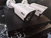 Комплект відеоспостереження на 2 камери 2 Мп AHD Oltec AHD-KIT-311/2 /Ціна з ПДВ/ HDD до 4 Tb/
