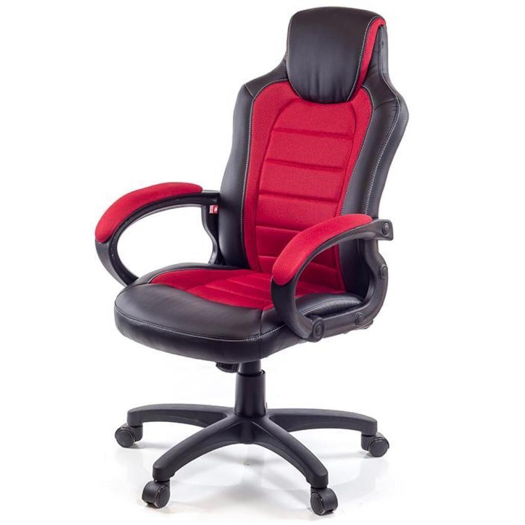 Кресло игровое АКЛАС Астон W PL TILT Красное (07267)