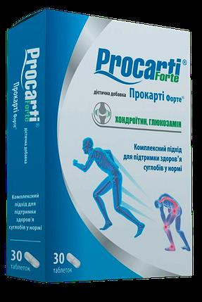 Прокарти форте - укрепляет кости скелета, замедляет развитие возрастных изменений в организме, табл № 30, фото 2