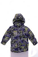 Куртка Евро для мальчика зеленая стрела