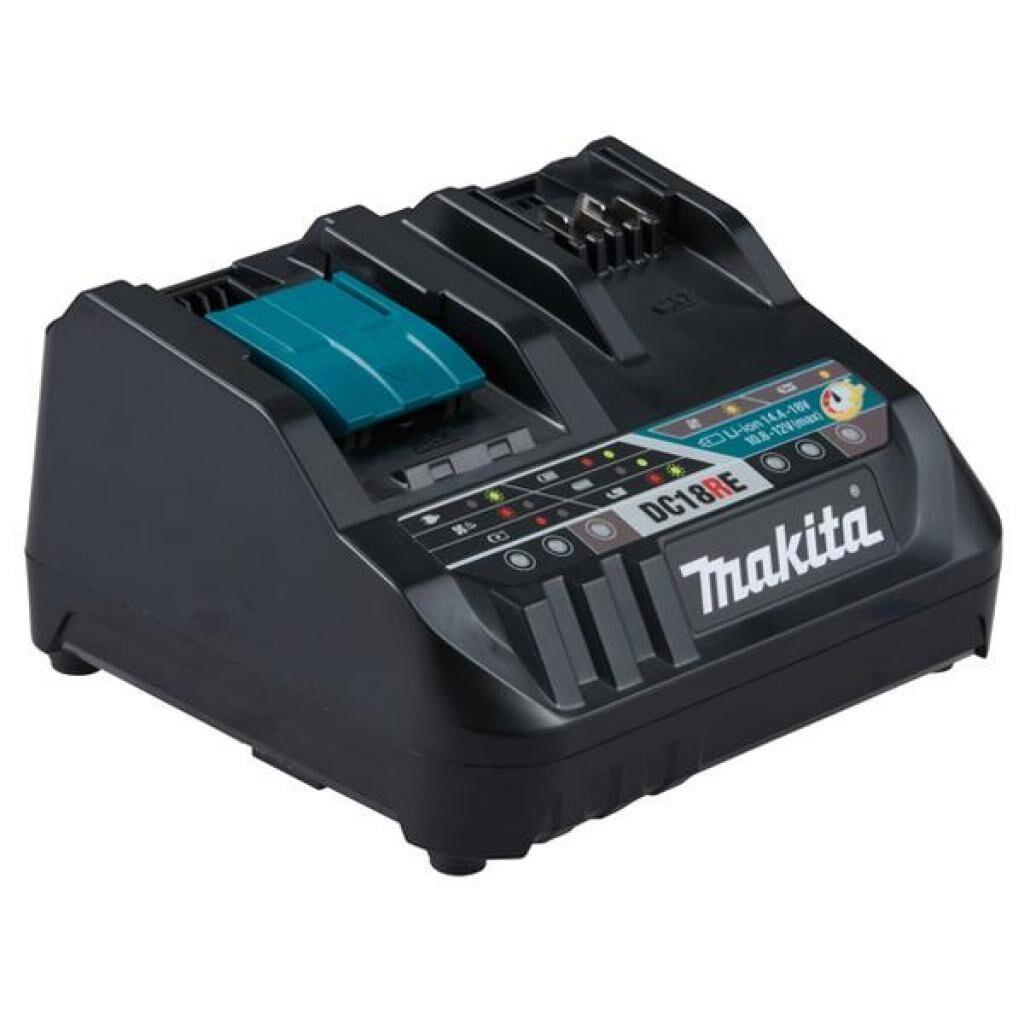 Зарядное устройство для аккумуляторов инструмента Makita DC18RE для LXT и CXT (198720-9), фото 1