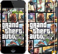 "Чехол на iPod Touch 5 GTA 5. Collage ""630c-35"""