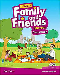 Family and Friends Starter Second Edition Class Book