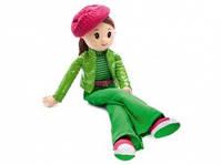 Мягкая музыкальная игрушка кукла Вероника в беретке 38 см