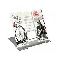 """Подставка для книг металлическая """"Лондон"""""""