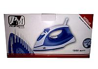 Утюг Iron PM 1131 Promotec, Утюг с керамическим покрытием, Утюг бытовой электрический, Утюг с самоочисткой