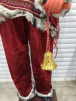 Дед-Мороз с мешком подарков, 150 см, фото 3