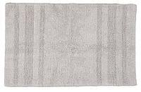 Коврик для ванной - хлопок светло-серый, 50х80 см, фото 1