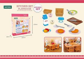 Посуда для кухни флоксовых животных B04 (аналог Sylvanian Families)