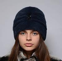 Норковая шапка женская Чалма, фото 1