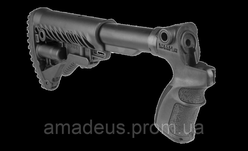 AGM500FK Приклад с пистолетной рукояткой FAB для Mossberg 500, черный