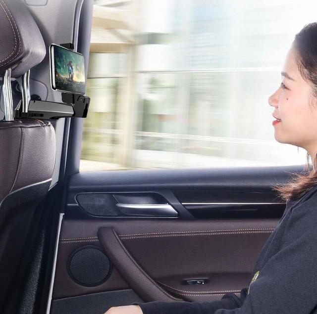 Автомобильный держатель на подголовник Baseus Backseat SUHZ-A01 для телефона в машину