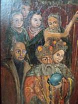 Козацкая икона Покрова Пресвятой Богородицы 18 век (Козацька ікона Покрова Пресвятої Богородиці), фото 2